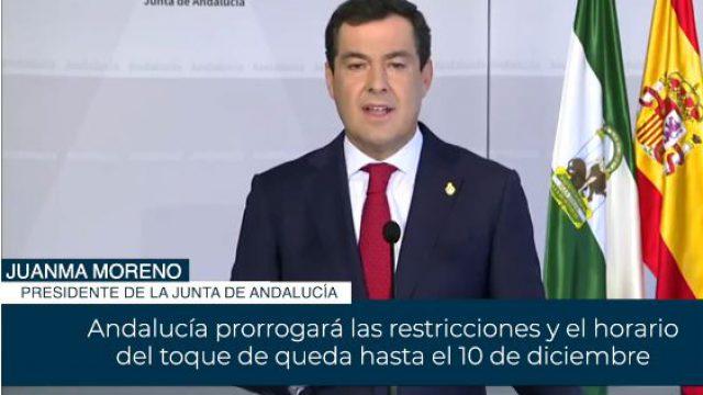 Nuevas Medidas en Andalucía.