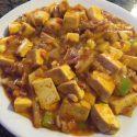 34.-To-Fu con Salsa Picante y Carne Picada