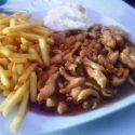 94.-Tiras de Pollo con Patatas Fritas