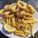 96.-Calamares Rebozados con Patatas Fritas