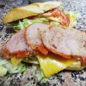 Baguette de Cochinito o Lomo