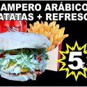 Campero Arábico + Patatas + Refrescos