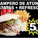 Campero de Atún + Patatas + Refresco