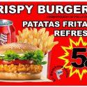 OFERTA Hamburguesa Krispy + Patatas + Refresco