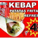 OFERTA Kebap + Patatas + Refresco
