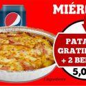 OFERTA MIÉRCOLES – PATATAS GRATINADAS