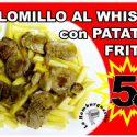Solomillo + Patatas + Bebidas