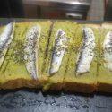 Tosta Guacamole con Boquerones en Vinagre