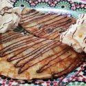 Crepes rellenos de nutella y nata