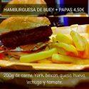 Hamburguesa Buey