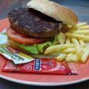 Hamburguesa de Buey 200 gr. con patatas