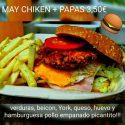 Hamburguesa May Chicken