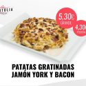 Patatas Gratinadas con Jamón York o Bacon