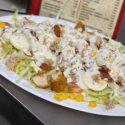 08 Loncheado de kebap, ensalada, patatas y salsa kebap