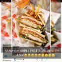 Sandwich Triple Crujiente