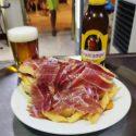 Serranito de Pollo o Lomo con Tortilla y Jamón de Bellota